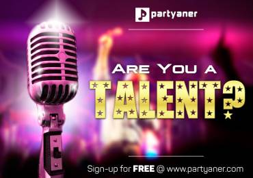 We are looking for the talents. At Partyaner everyone is a winner!