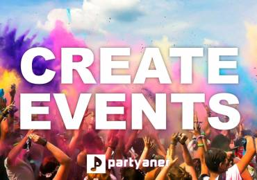 Create events at Partyaner!